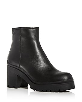 Jeffrey Campbell - Women's Tracker Block-Heel Platform Booties