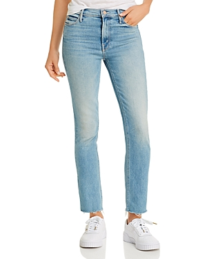 Mother The Dazzler Frayed Ankle Jeans in Jackpot-Women