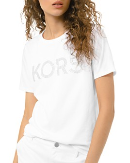 MICHAEL Michael Kors - Studded Graphic Tee