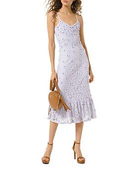 MICHAEL Michael Kors - Floral-Lace Slip Dress