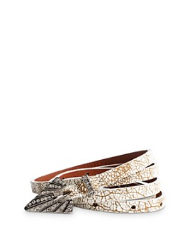 Zadig & Voltaire - Women's Studio 54 Leather Belt