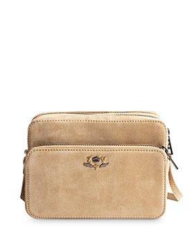 Zadig & Voltaire - Blason Suede Leather Crossbody Camera Bag