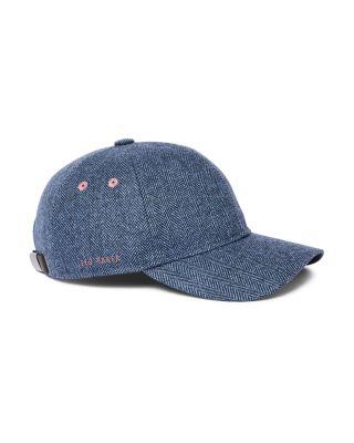 SILVER ARCHERY BASEBALL CAP WAXED COTTON