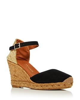 KURT GEIGER LONDON - Women's Monty Espadrille Wedge Sandals