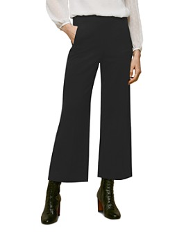Whistles - Flat-Front Ponte Trousers