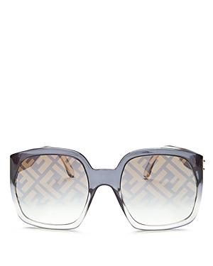 Fendi Women\\\'s Logo Square Sunglasses, 58mm-Jewelry & Accessories