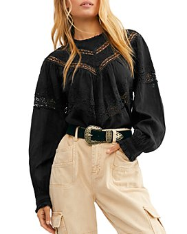 Free People - Abigail Victorian Cotton Top