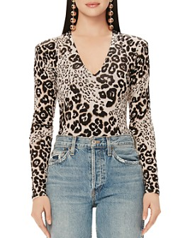 AFRM - Animal-Print Bodysuit