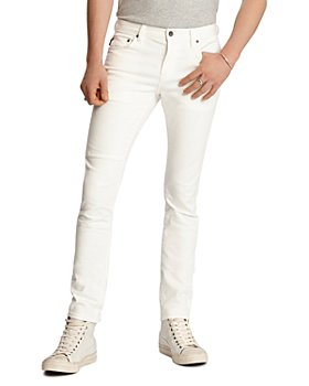 John Varvatos Star USA - Wight Skinny Fit Jeans in White
