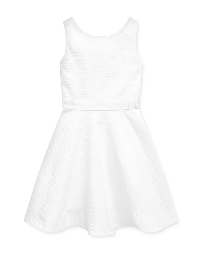 Ralph Lauren - Girls' Crossback Stretch Dress - Little Kid