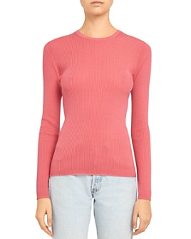Theory - Mirzi Regal Wool Ribbed Sweater