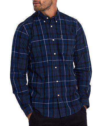 Barbour - Sandwood Tartan Regular Fit Button-Down Shirt