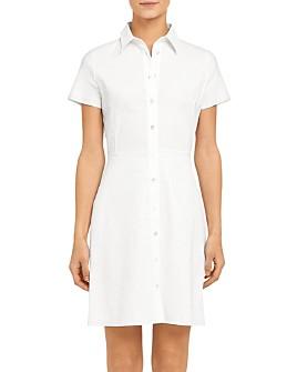 Theory - Button-Up Shirtdress