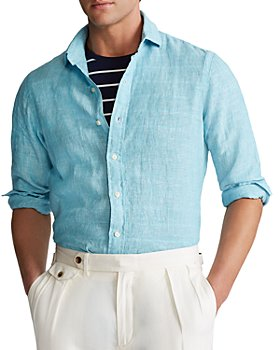 Polo Ralph Lauren - Linen Classic Fit Button-Down Shirt