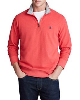 Polo Ralph Lauren - Mesh Half-Zip Sweatshirt