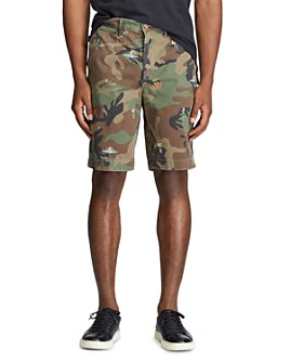 Polo Ralph Lauren - Relaxed Fit Tropical Camo Shorts