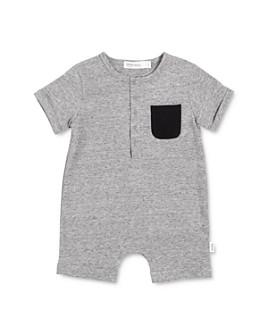 Miles Baby - Unisex Organic Cotton-Blend Romper - Baby