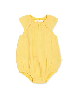 FIRSTS by petit lem - Girls' Organic Cotton Sleeveless Romper - Baby
