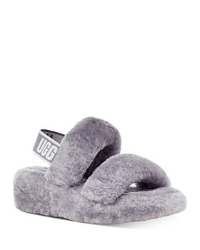 UGG® - Women's Oh Yeah Shearling Slingback Slippers