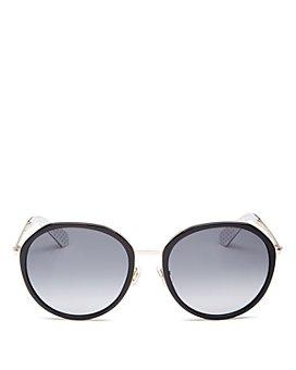 kate spade new york - Women's Alaina Round Sunglasses, 56mm