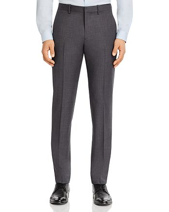 Theory - Mayer Micro-Houndstooth Slim Fit Suit Pants