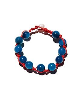 AQUA - Agate Beaded Bracelet - 100% Exclusive