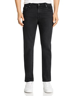 AG - Tellis Slim Fit Jeans in 7 Years Pure Black