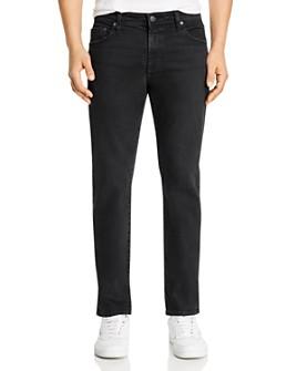 AG - Tellis Slim Fit Jeans in 7 Years Pure Black