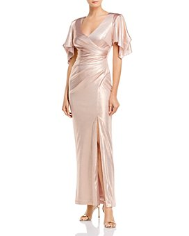 Eliza J - V-Neck Evening Gown