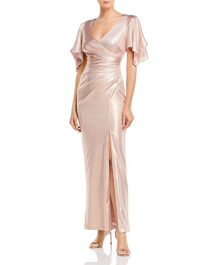 Eliza J - V-Neck Evening Gown
