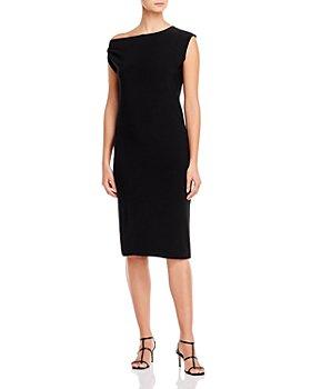 Norma Kamali - Drop Shoulder Dress