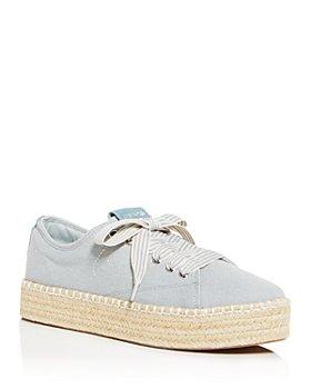 Tretorn - Women's Eve Low-Top Platform Espadrille Sneakers