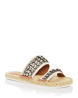 See by Chloé - Women's Kaori Embellished Slide Sandals
