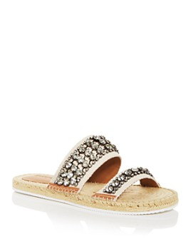 See by Chloé - Women's Kaori Embellished Slide Sandals