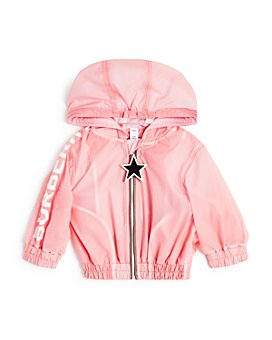 Burberry - Girls' Logo Lightweight Hooded Jacket - Baby