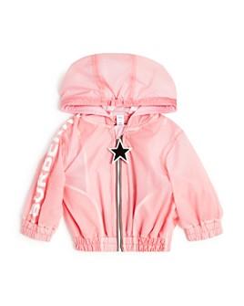 Burberry - Girls' Logo Lightweight Hooded Jacket - Baby