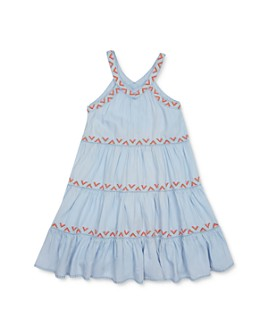 Peek Kids - Girls' Saraphina Embroidered Shift Dress - Little Kid, Big Kid