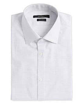 John Varvatos Star USA - Spencer Dashed-Grid Regular Fit Dress Shirt