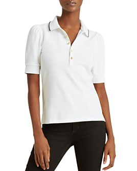Ralph Lauren - Puff-Sleeve Polo Shirt