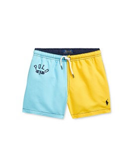 Ralph Lauren - Boys' Traveler Colorblocked Swim Trunks - Little Kid