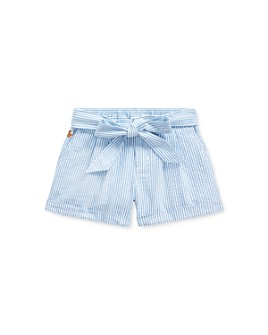 Ralph Lauren - Girls' Seersucker Shorts - Little Kid