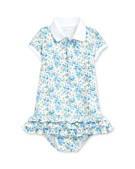 Ralph Lauren - Ralph Lauren Girls' Floral Print Dress & Bloomers Set - Baby