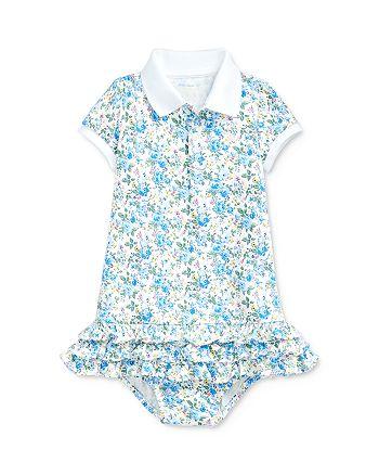 Ralph Lauren - Ralph Lauren Girls' Floral Print Dress & Bloomers Set - Baby