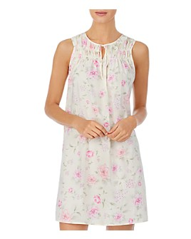 Ralph Lauren - Smocked Floral Print Nightgown