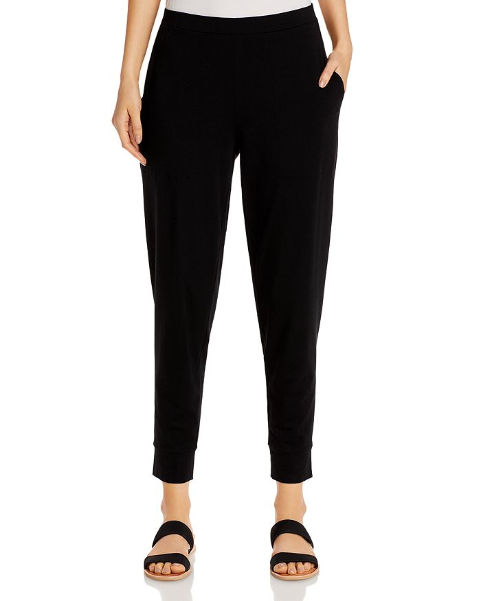 Eileen Fisher - Organic Cotton Ankle Pants - 100% Exclusive