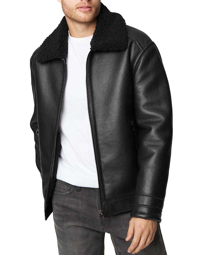 BLANKNYC - Faux Leather Sherpa Jacket