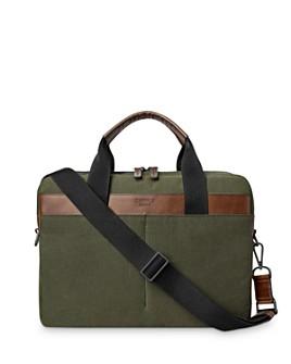 Shinola - Mack Leather-Trimmed Briefcase