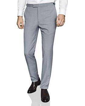 REISS - Hustle Micro-Puppytooth Slim Fit Pants