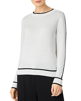 HOBBS LONDON - Hannah Piped-Trim Sweater