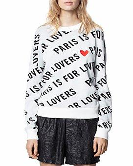 Zadig & Voltaire - Anouk Printed Sweatshirt